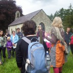 Outdoor Story Walk at Strata Florida abbey