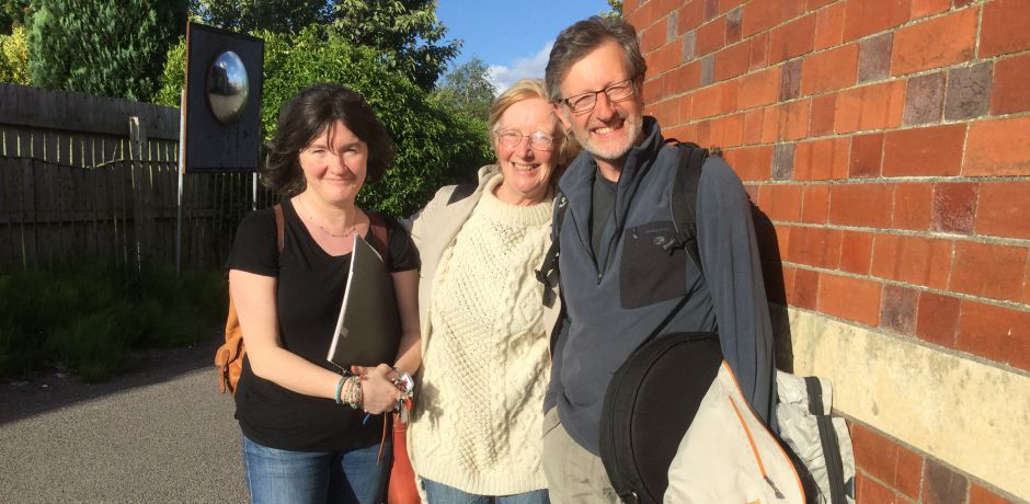 Stacey, Lynne and Michael