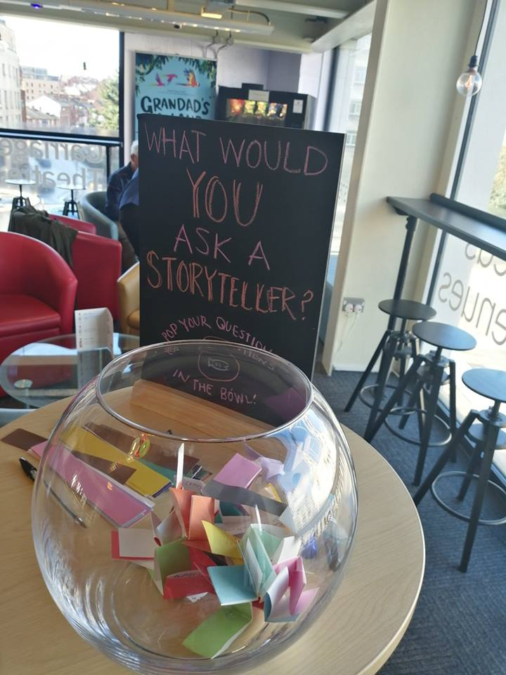 What would you ask a storyteller?