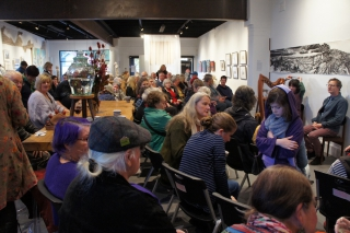 Performance at the Gang Gang Gallery in Lithgow