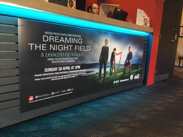 Banner at Riverside Theatres, Parramatta