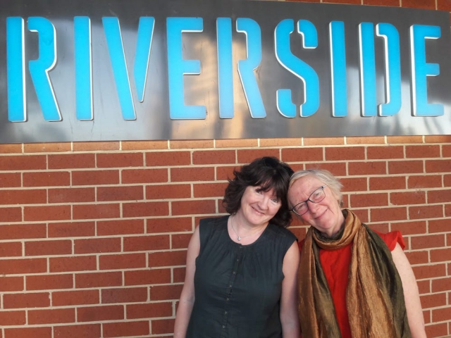 Stacey & Lynne at Riverside Theatres, Parramatta