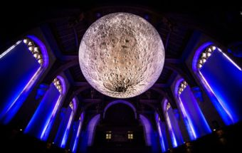Museum of the Moon at Museum-of-the-Moon at University of Bristol