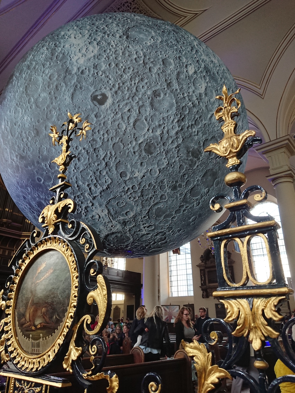 Museum of the Moon at Derby Cathedral