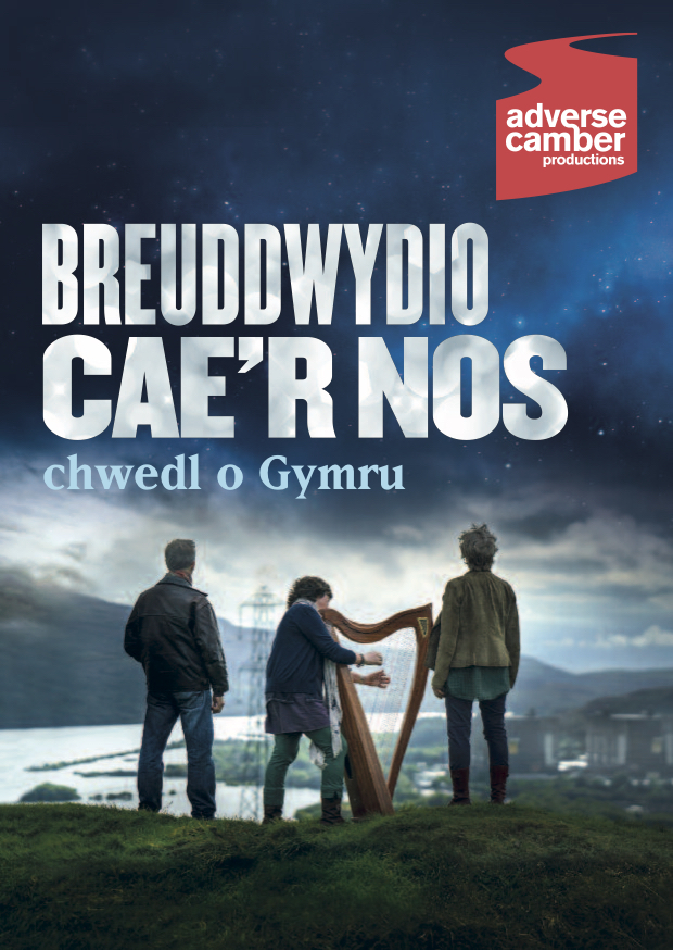 Dreaming the Night Field Welsh programme cover