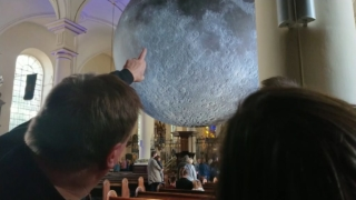 Derby & Derbyshire Astronomical Society at Museum of the Moon, Derby Cathedral