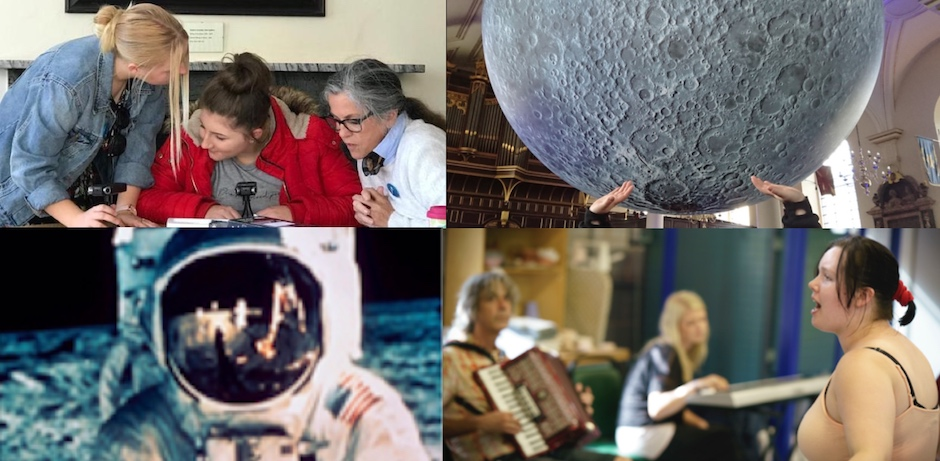 Music of the Moon Image Collage