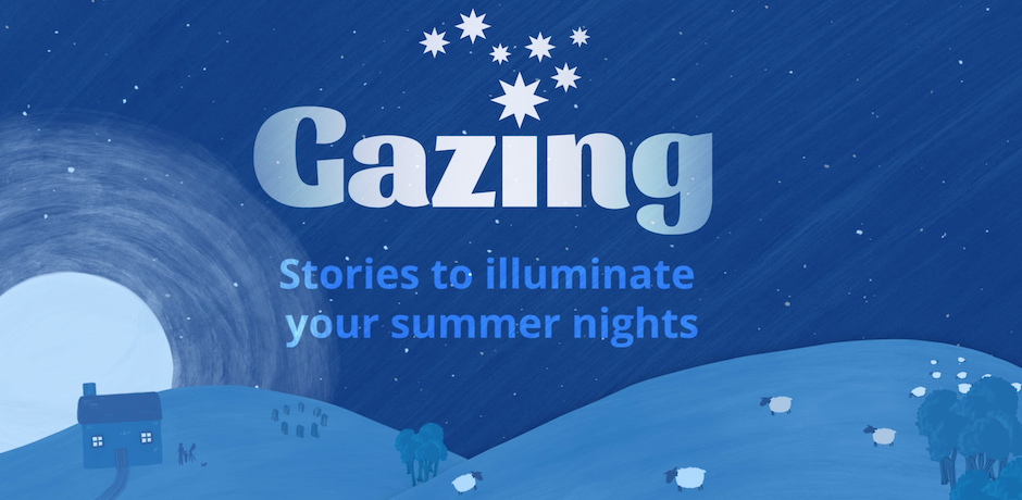 Gazing series illustration