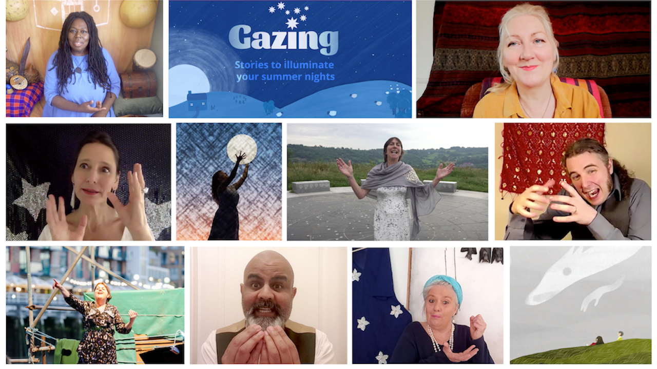a montage of images from our gazing series