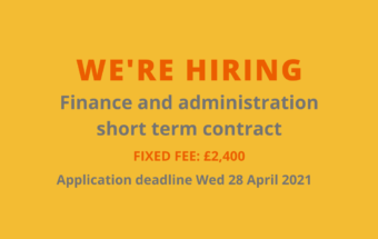 a graphic to advertise the finance short term contract
